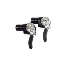 Campagnolo Record 10-Speed Barend Bicycle Shifters - Pair - SL00-BE10CG